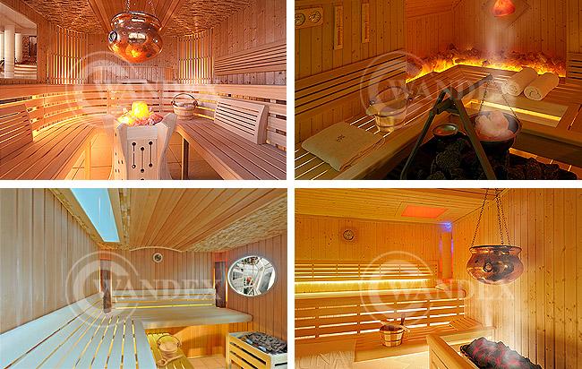sauna z klimatami